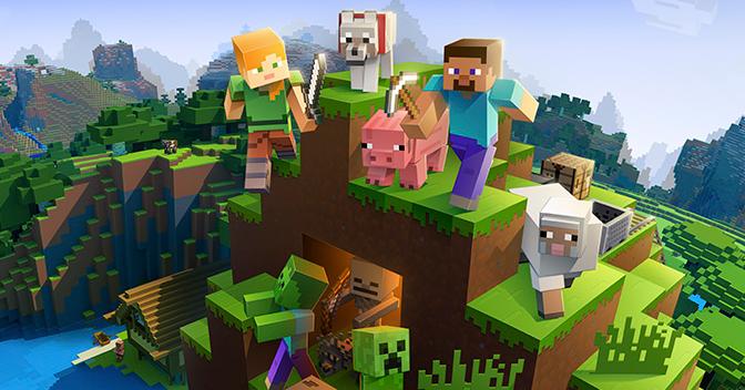 Minecraft und FiFa Samstag